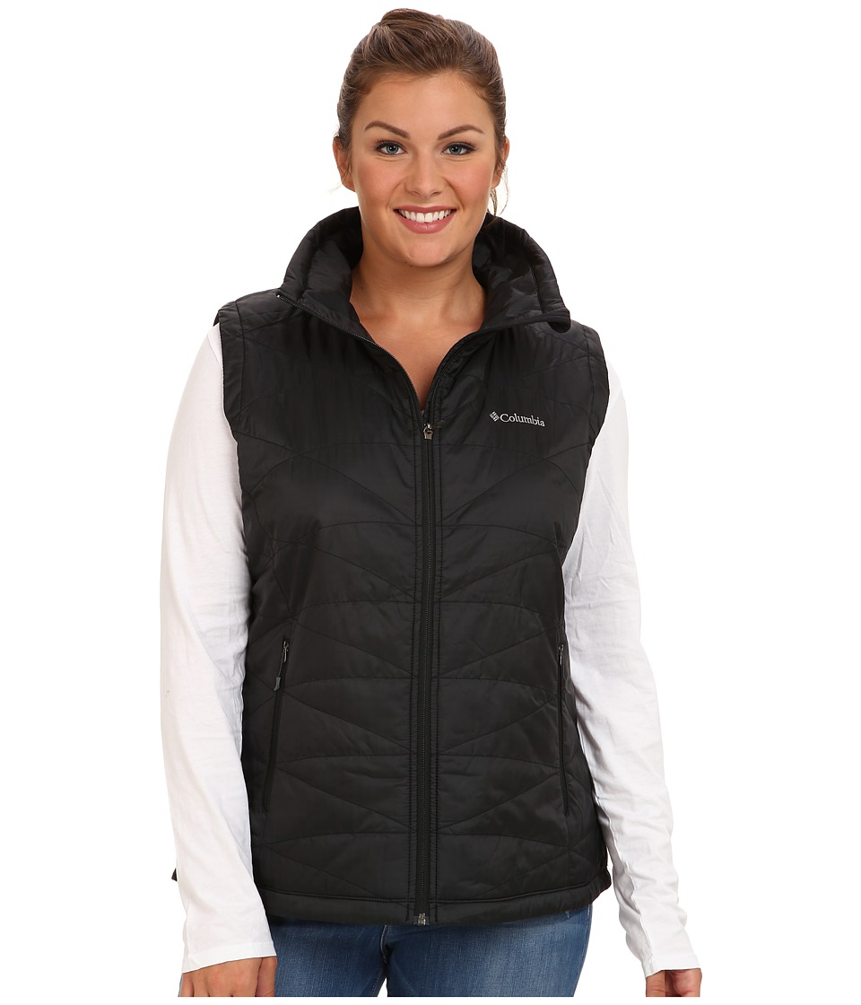 Columbia Plus Size Mighty Litetm III Vest (Black) Women