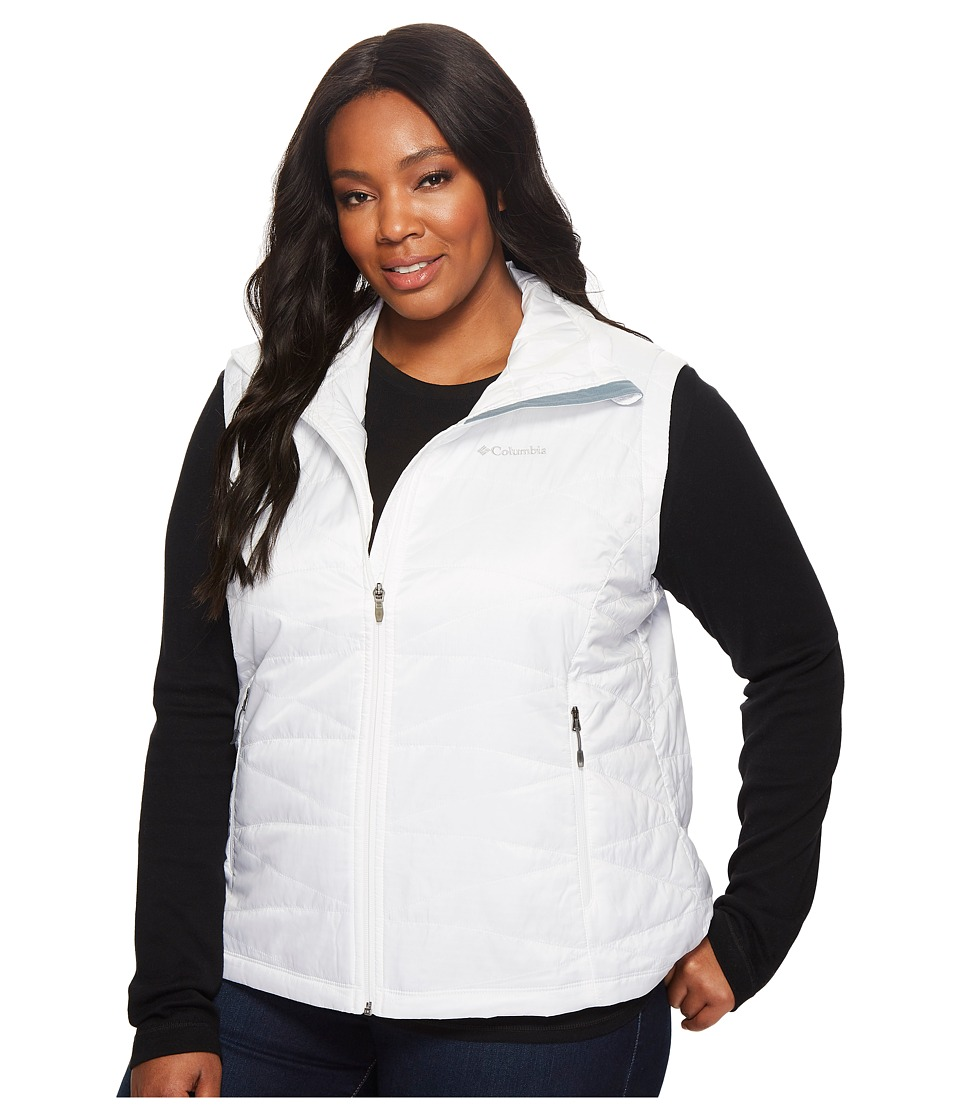 Columbia Plus Size Mighty Litetm III Vest (White) Women