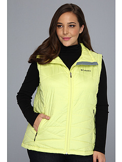 SALE! $61.99 - Save $48 on Columbia Plus Size Mighty Lite III Vest (Fresh Kiwi) Apparel - 43.65% OFF $110.00