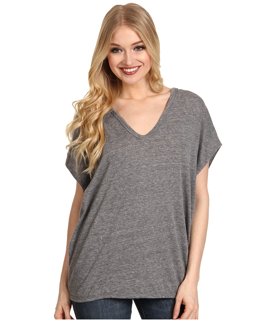 Alternative - Sleeveless Poncho (Eco Grey) Women's Short Sleeve Pullover
