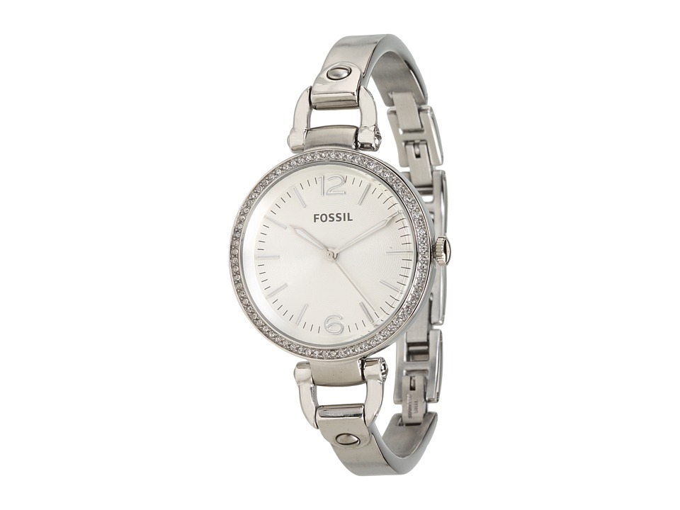 Fossil - Georgia - ES3225 (Silver) Analog Watches