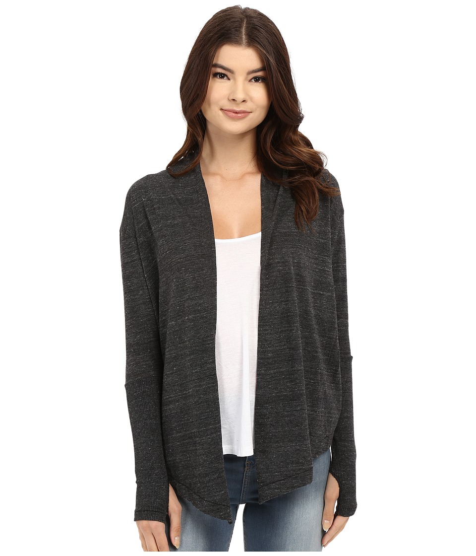 Alternative - Thumbs Up Wrap (Eco Black) Women's Sweater