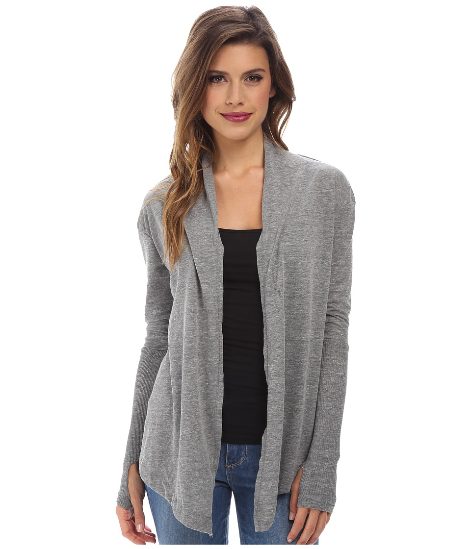 Alternative - Thumbs Up Wrap (Eco Grey) Women's Sweater