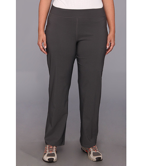 Columbia - Plus Size Back Beauty Straight Leg Pant (Grill) Women