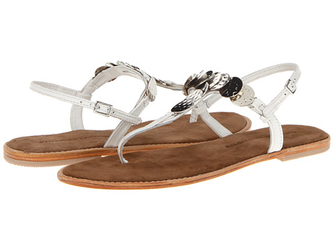 Chinese Laundry - Impulse (White Leather) Women's Sandals
