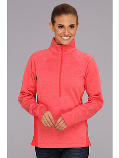 SALE! $39.99 - Save $30 on Columbia Optic Got It Stripe 1 2 Zip (Red Hibiscus Stripe Red Hibiscus) Apparel - 42.87% OFF $70.00