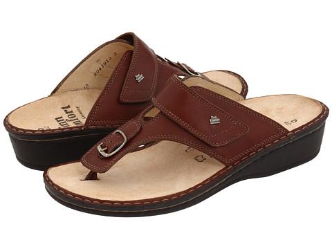 Finn Comfort - Phuket - 2533 (Brandy Country Classic Footbed) Women's Sandals