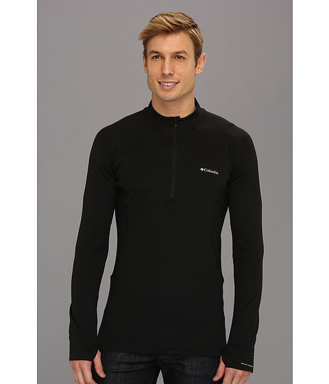 Columbia - Heavyweight 1/2 Zip (Black) Men