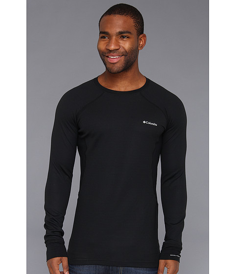 Columbia - Heavyweight Long Sleeve Top (Black) Men's Long Sleeve Pullover