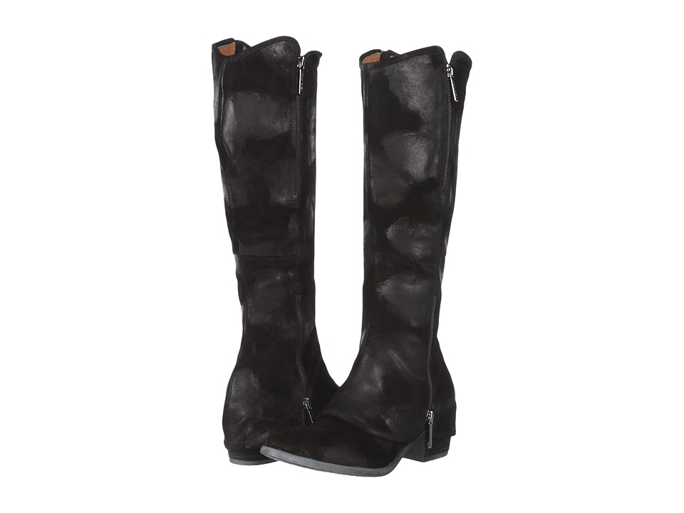 Donald J Pliner - Devi2 (Black Vintage Suede) Women's Pull-on Boots