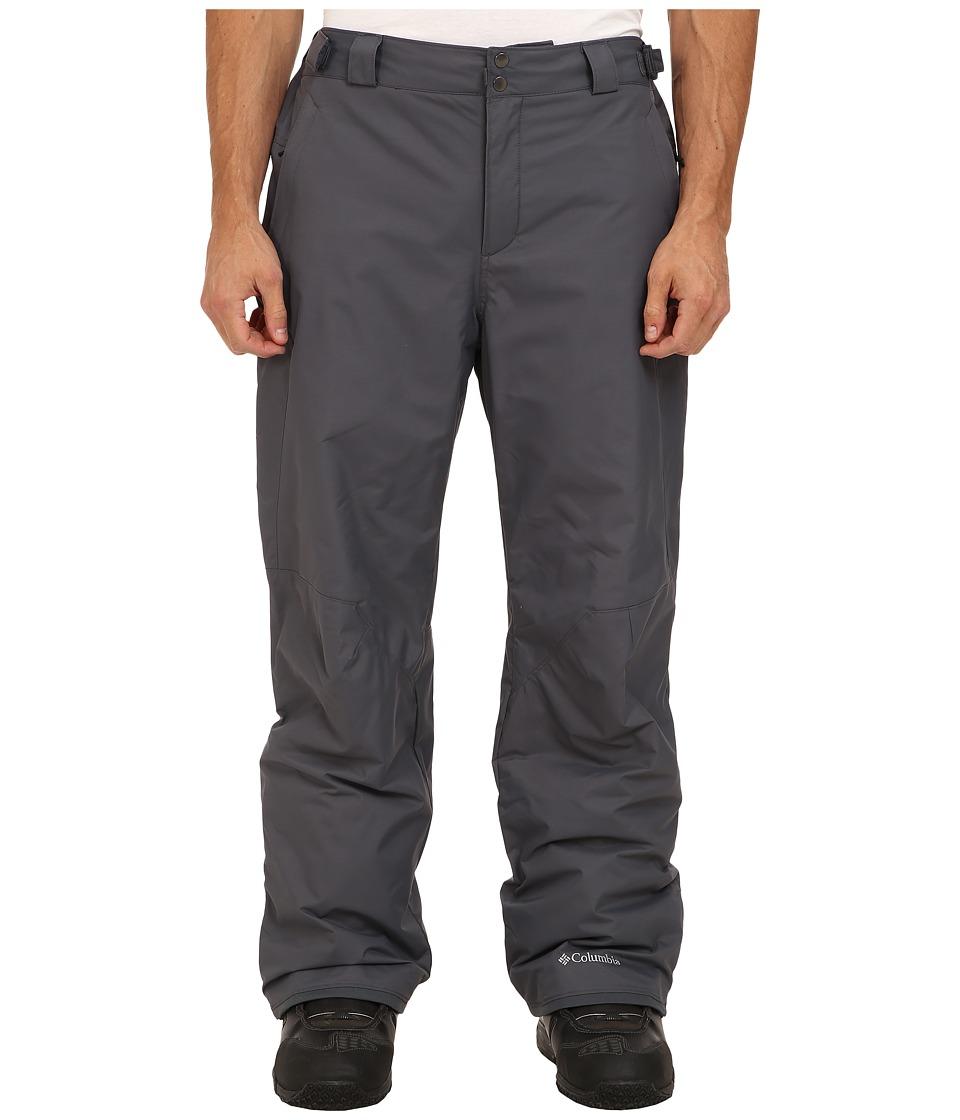 Columbia - Big Tall Bugaboo II Pant (Graphite) Men's Casual Pants