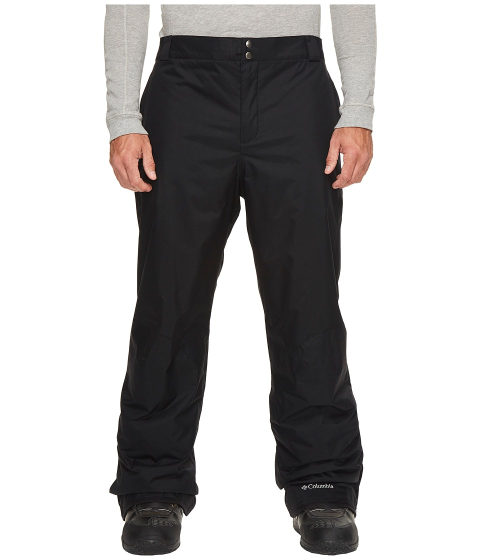 Columbia - Bugabootm II Pant - Tall (Black 2) Men's Outerwear
