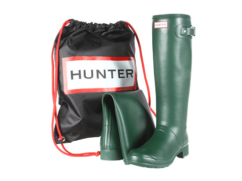 Hunter - Original Tour (Green) Women's Rain Boots