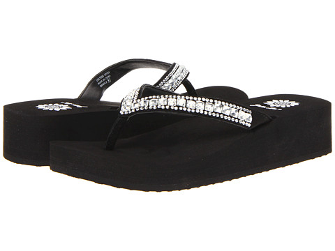 Yellow Box - Brussels (Black) Women's Sandals
