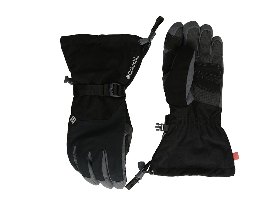 Columbia - Inferno Range (Black/Graphite) Extreme Cold Weather Gloves