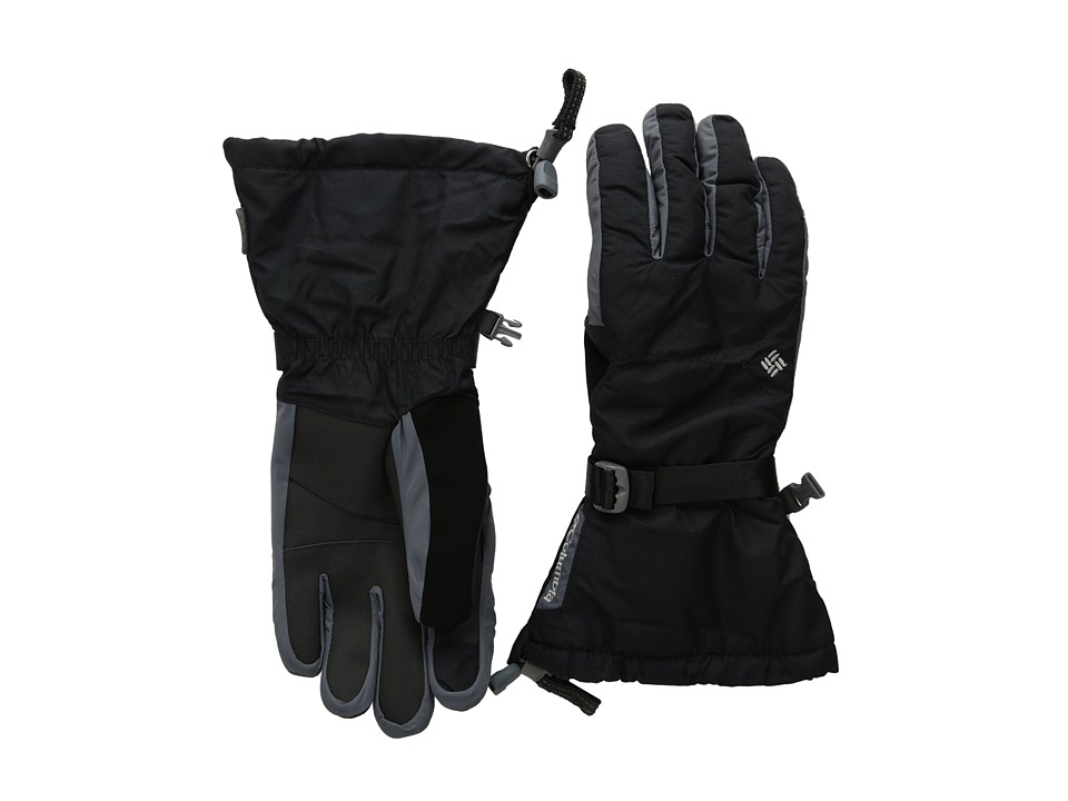 Columbia - Bugaboo Interchange Glove (Black/Graphite/Black) Extreme Cold Weather Gloves