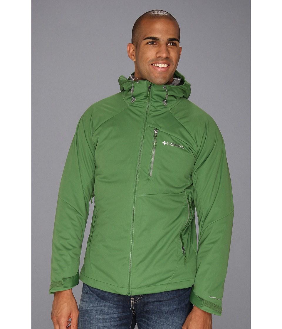Columbia - Versalite Softshell Interchange Jacket (Dark Backcountry/Boulder/Dark Backcountry/Boulder/Buffalo) Men