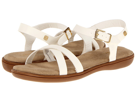 Bass - Julie (White) Women's Sandals