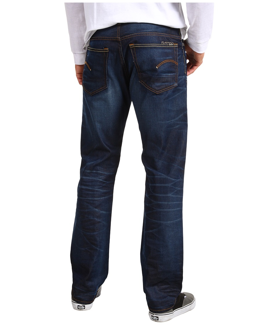 G-Star - 3301 Straight Jean in Lexicon Dark Aged (Lexicon Dark Aged) Men's Jeans