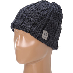 SALE! $16.99 - Save $18 on Columbia Parallel Peak II Beanie (Abyss Heather) Hats - 51.46% OFF $35.00