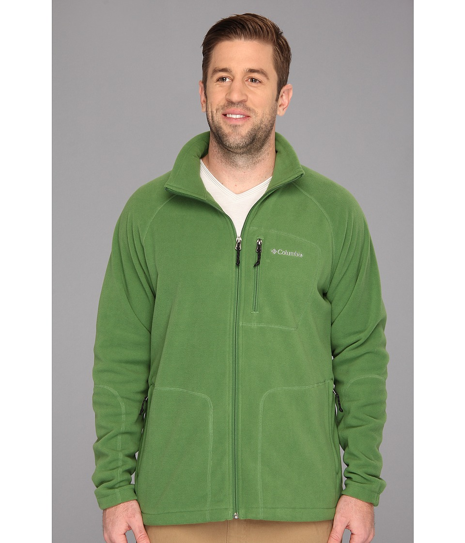 Columbia - Big Tall Fast Trek II Full Zip Fleece (Dark Backcountry) Men