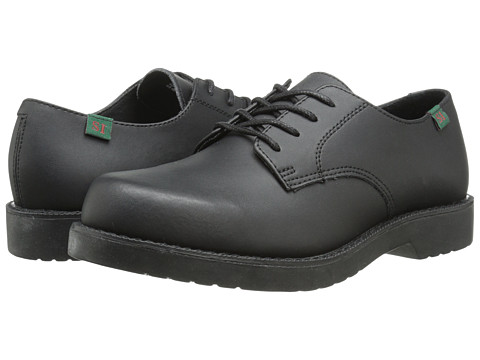 School Issue - Semester (Toddler/Little Kid/Big Kid) (Black Smooth Leather) Boys Shoes