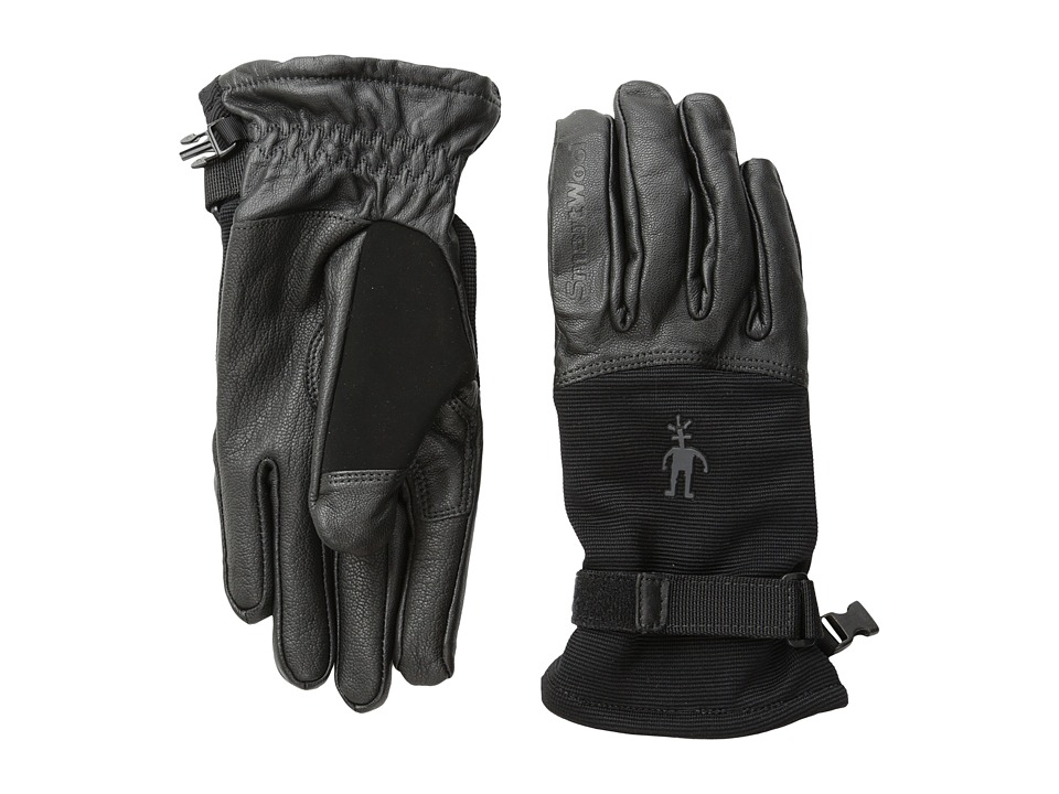 Smartwool PhD Spring Glove (Black) Extreme Cold Weather Gloves