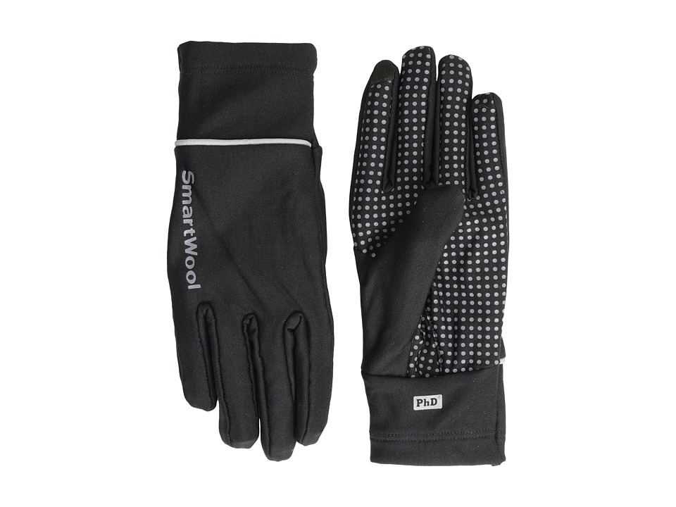 Smartwool - PhD HyFi Training Glove (Black/Graphite) Snowboard Gloves