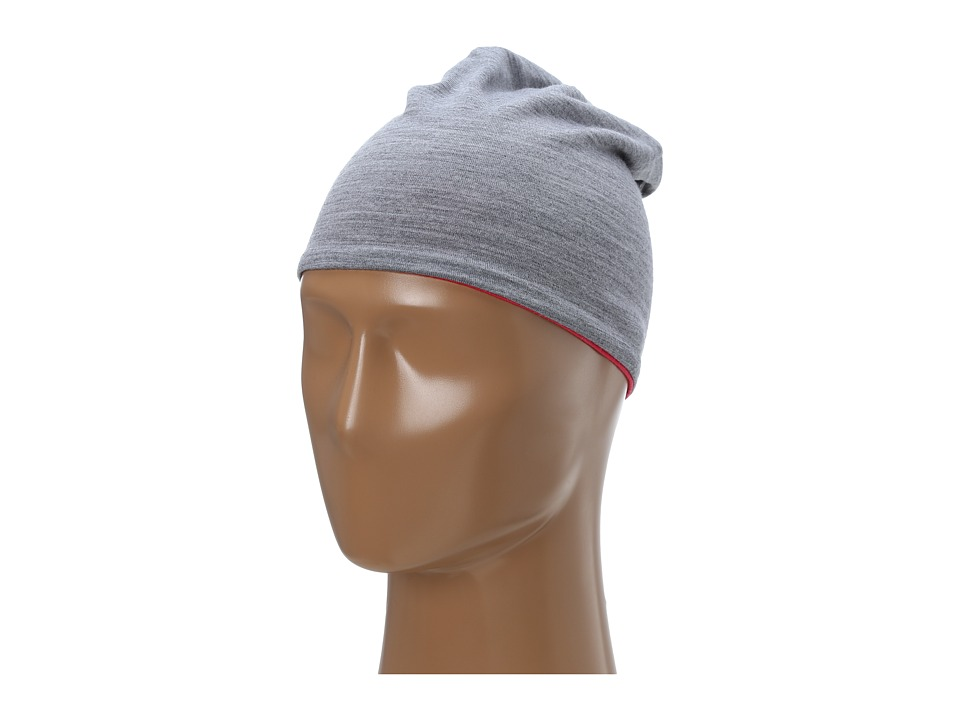 Smartwool - Reversible Training Beanie (Silver Gray Heather) Beanies