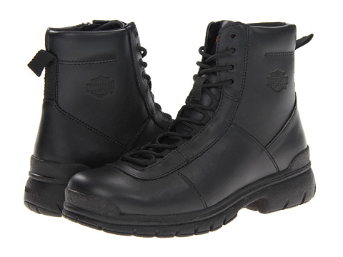 Harley-Davidson - Slash (Black) Men's Lace-up Boots