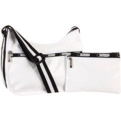 SALE! $51.99 - Save $40 on LeSportsac Classic Hobo Bag (White Debossed Patent) Bags and Luggage - 43.49% OFF $92.00