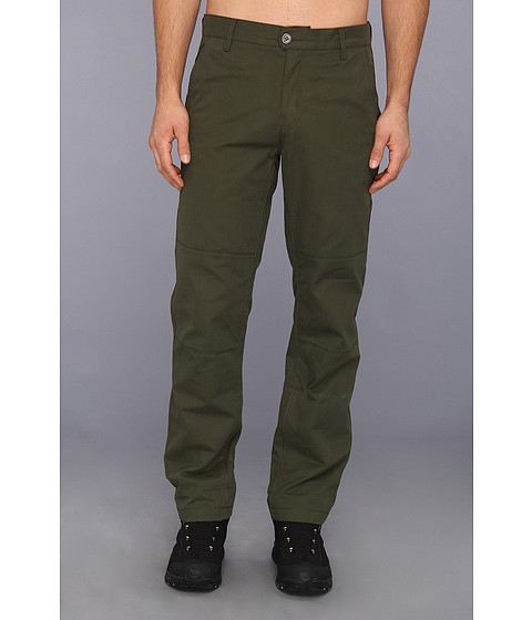 Columbia - Flare Gun Flannel Lined Pant (Surplus Green/Abyss Plaid/Buffalo) Men's Casual Pants
