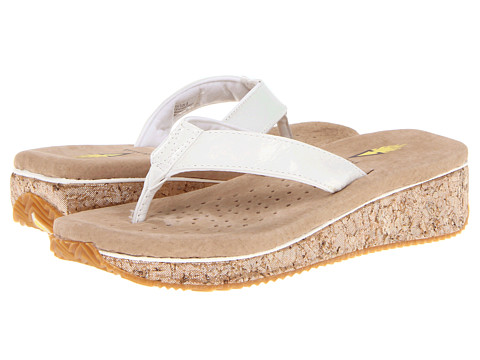 VOLATILE - Cream Puff (White) Women's Sandals