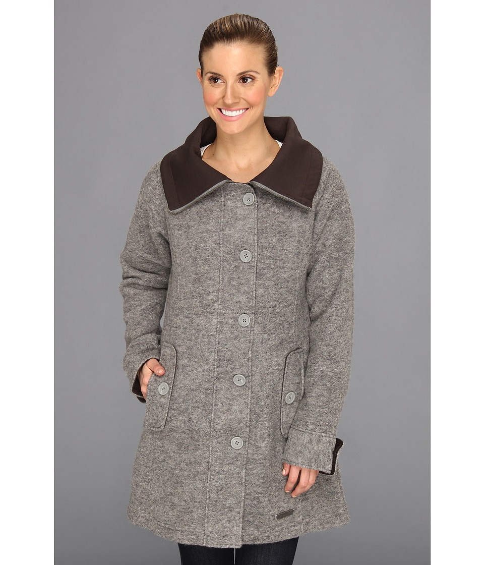 ExOfficio - Medelton Trench (Slate) Women's Coat