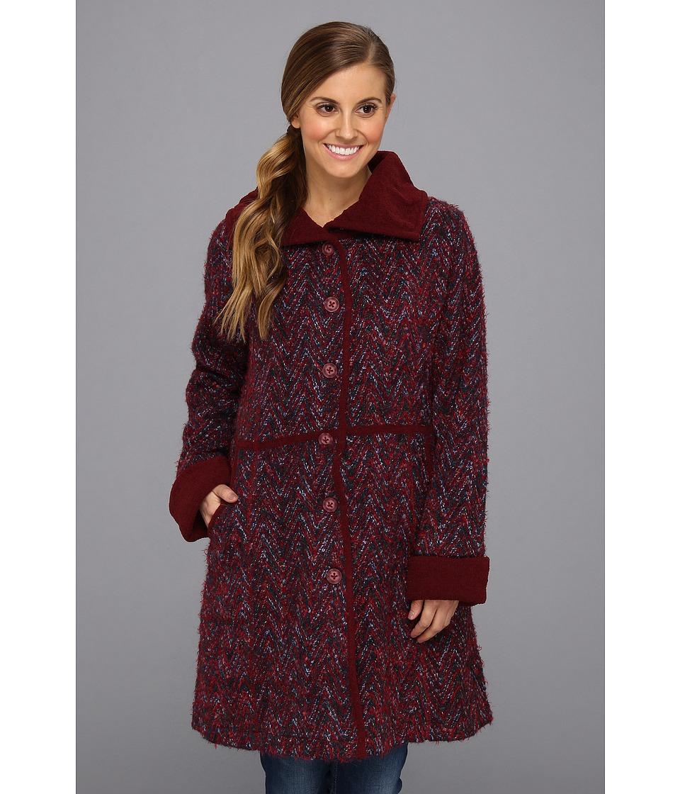 ExOfficio - Rozeta Sweater Coat (Midnight) Women's Coat