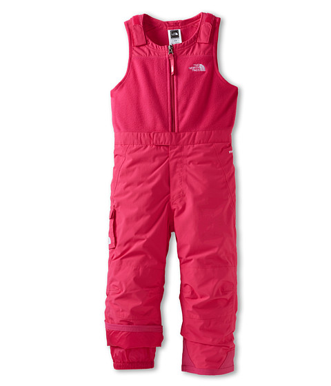 The North Face Kids - Insulated Snowdrift Bib (Toddler) (Passion Pink) Girl