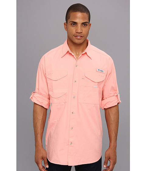 Columbia - Bonehead L/S Shirt (Sorbet) Men's Long Sleeve Button Up
