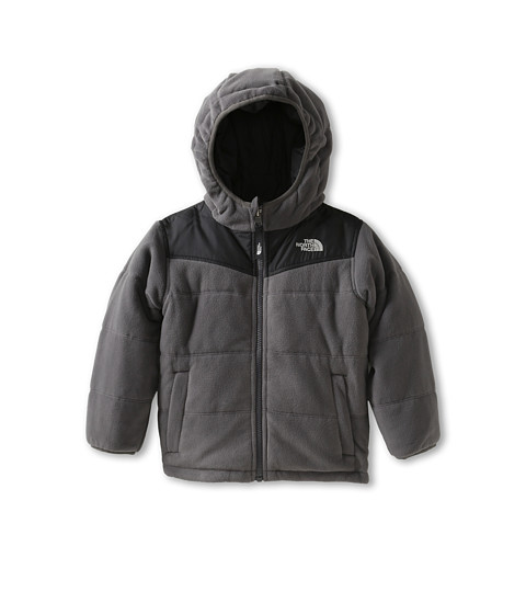 The North Face Kids - Reversible True Or False Jacket (Toddler) (Graphite Grey) Boy's Fleece