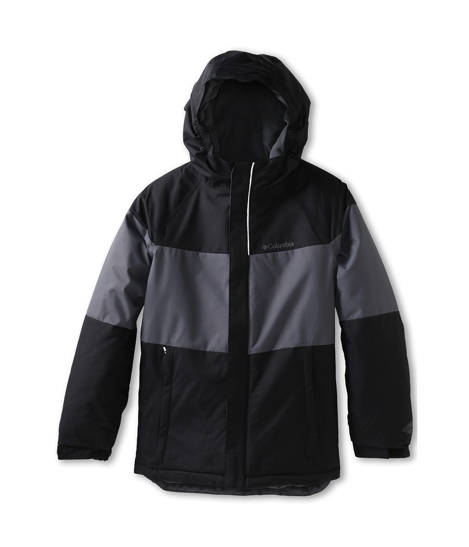 Columbia Kids Alpine Actiontm Jacket (Little Kids/Big Kids) (Black/Graphite) Boy