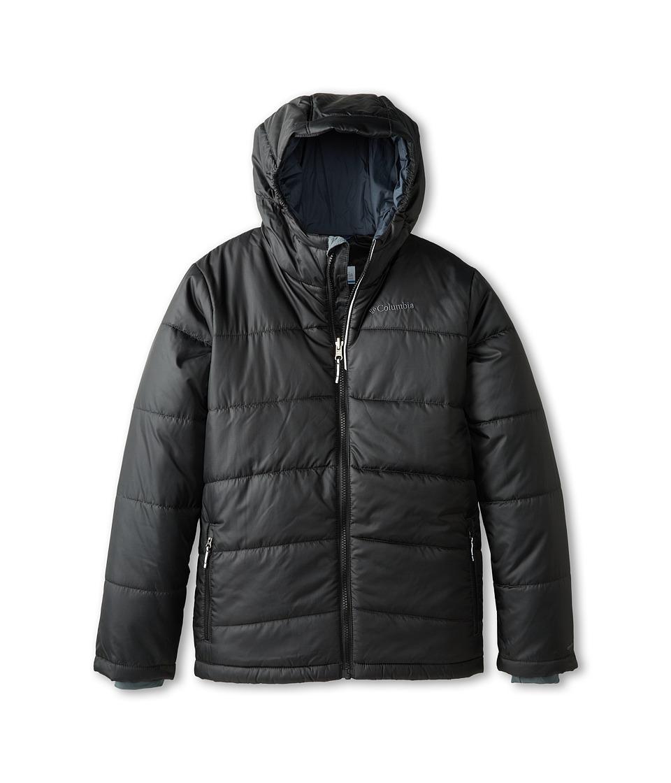 Columbia Kids - Shimmer Me Jacket (Little Kids/Big Kids) (Black/Graphite) Boy