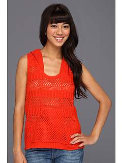 SALE! $16.99 - Save $38 on Element Tanner Sleeveless Hoodie (Poppy) Apparel - 68.83% OFF $54.50
