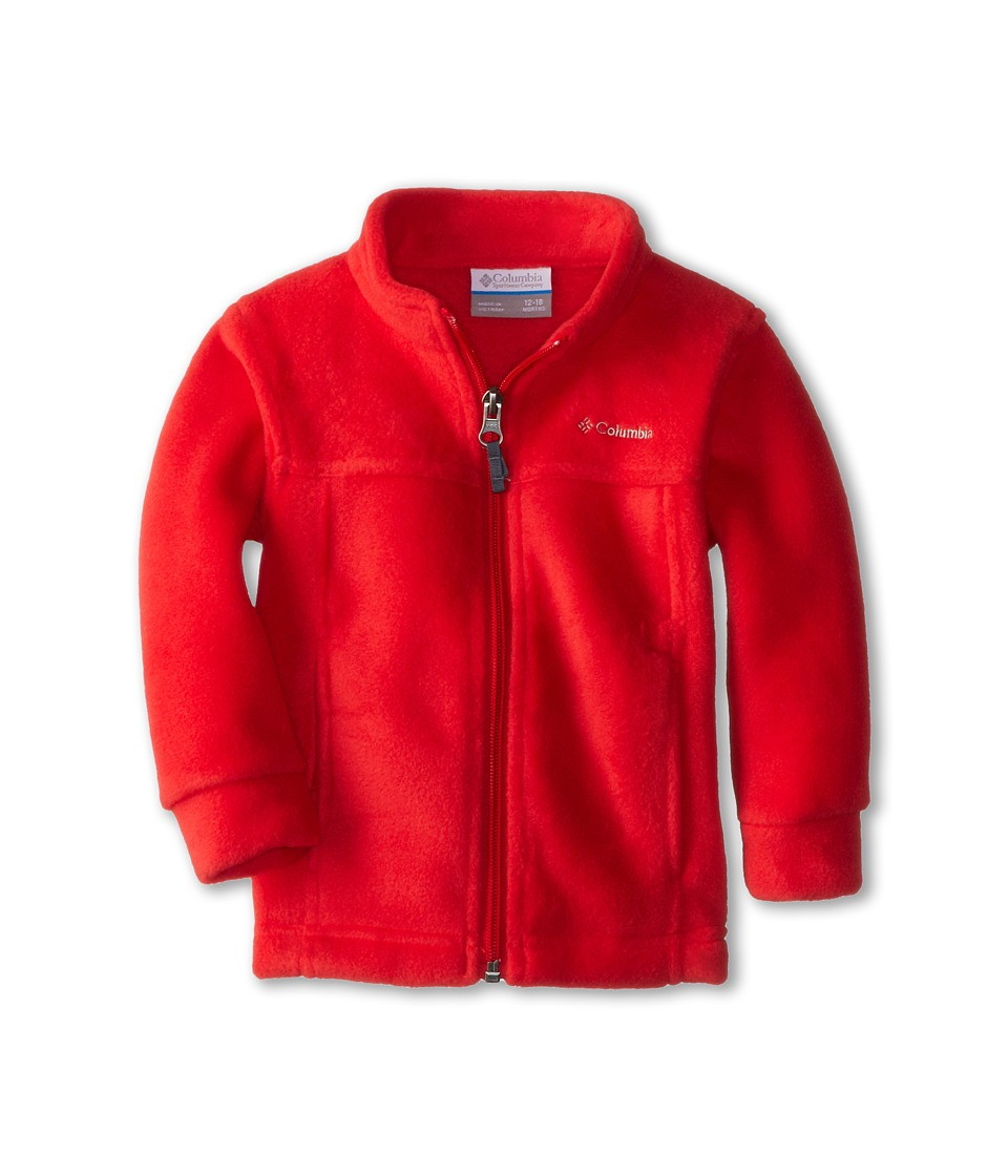 Columbia Kids - Steens Mt II Fleece (Infant) (Bright Red) Boy's Fleece