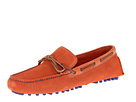Cole Haan - Air Grant Casual (Creamsicle Suede/Creamsicle Croc Print/Violet) - Cole Haan Shoes