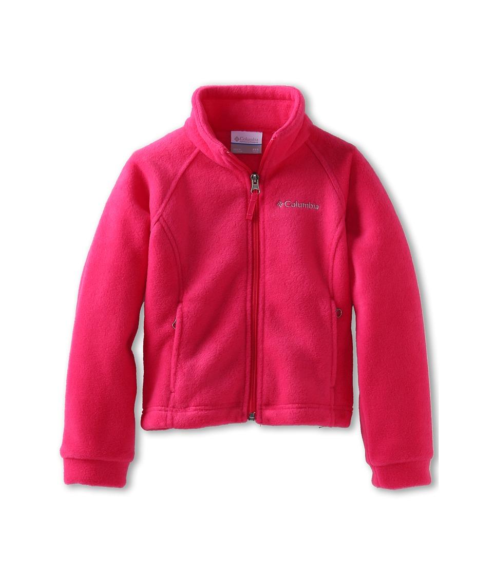 Columbia Kids - Benton Springs Fleece (Toddler) (Bright Rose) Girl