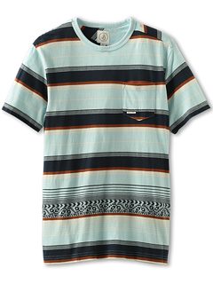 SALE! $9.99 - Save $20 on Volcom Kids Marino S S Tee (Big Kids) (Light Blue) Apparel - 66.14% OFF $29.50