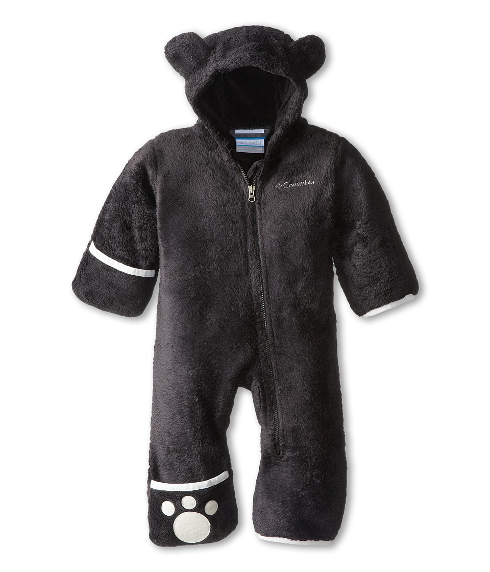 Columbia Kids - Foxy Baby II Bunting (Infant) (Black/Sea Salt) Kid's Jumpsuit & Rompers One Piece