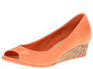 Cole Haan - Air Tali OT Wedge 40 (Creamsicle Nubuck) - Cole Haan Shoes