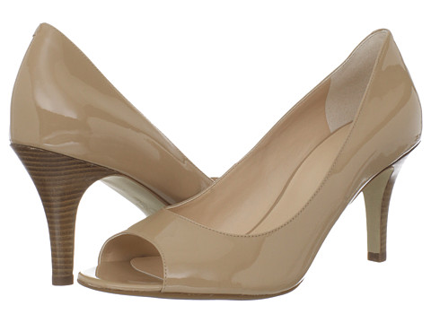 Cole Haan - Air Lainey OT Pump (Sandstone Patent) High Heels