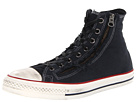 Converse - Chuck Taylor All Star Double Zip Hi (Black/Egret) - Footwear