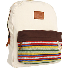 SALE! $26.99 - Save $33 on Vans Krochet Kids Backpack (Natural) Bags and Luggage - 55.02% OFF $60.00
